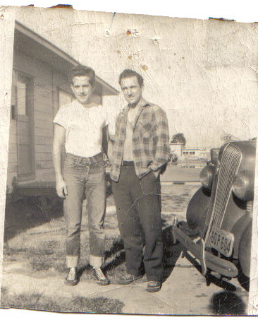 Gael Pierce Mike Ciav Jr San Diego c1948